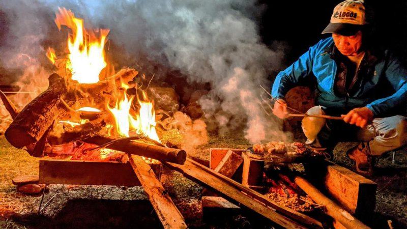▲南投巴庫拉斯玩法-營火烤肉。