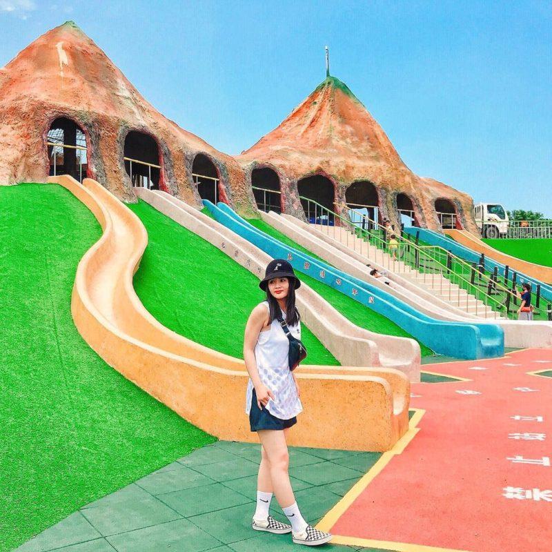 竹南獅山多功能運動公園,苗栗景點