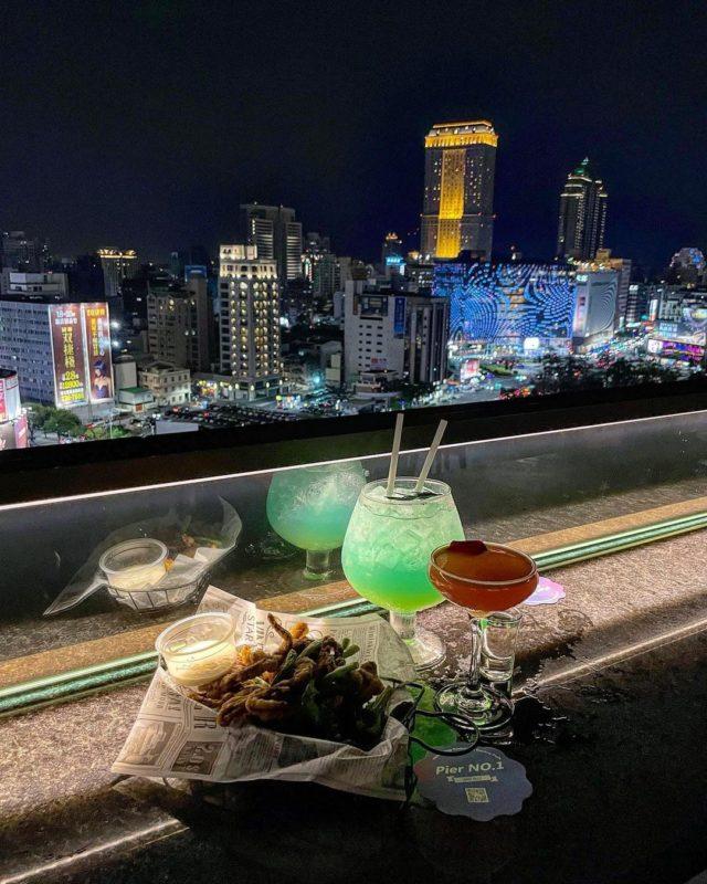 高雄夜景景點高雄英格迪高空酒吧3