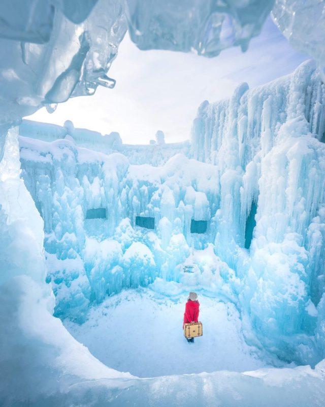 支笏湖 氷濤まつり