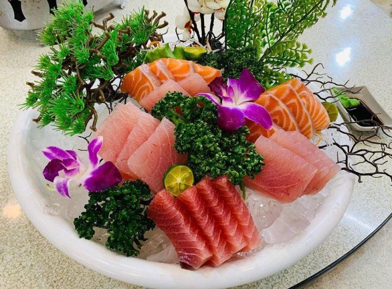新北美食-萬里美食懶人包-萬海亭海鮮餐廳生魚片