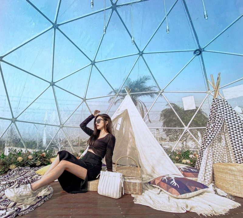 新竹湖口景點推薦夏季三角景觀咖啡廳