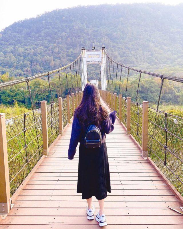 新竹露營內灣老街吊橋