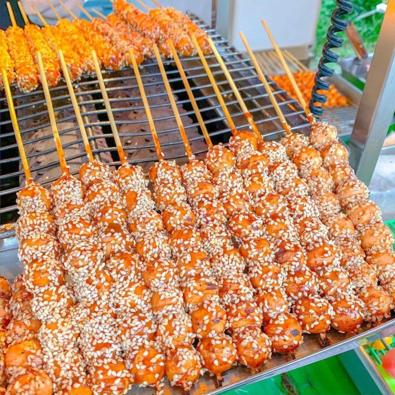 新竹露營-內灣老街美食小丸子