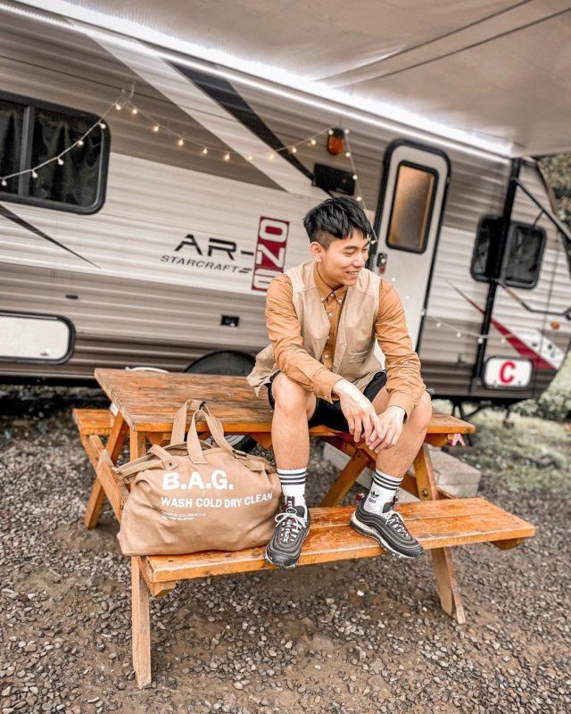新竹露營威尼斯溫泉路營地-露營車