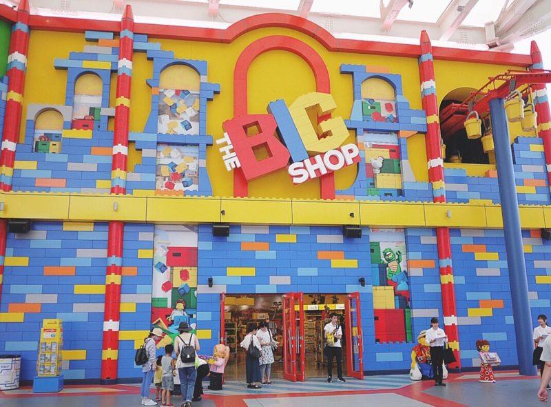 日本遊樂園 樂高樂園 禮品店