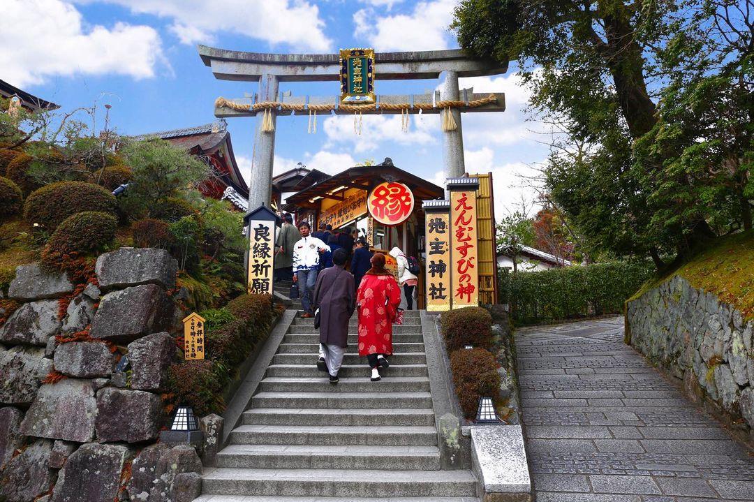 京都神社 清水寺地主神社