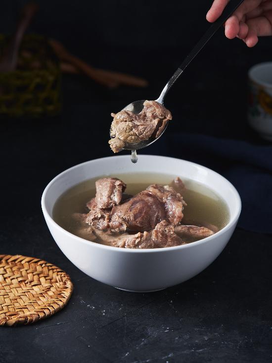 即食湯品-清燉牛筋肉片湯