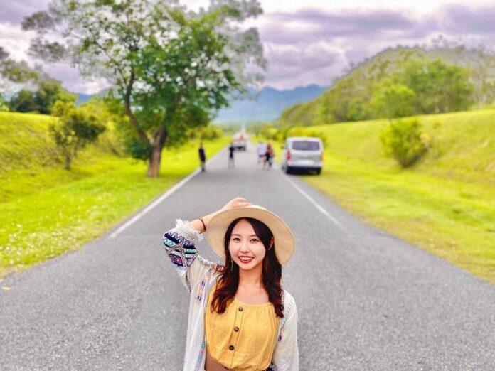 ▲花蓮自行車道-大農大富平地森林園區自行車道。(圖/jjen850910,Instagram)