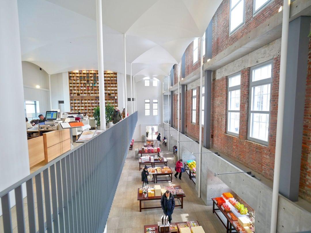 札幌甜點北菓樓裝潢圖書館改裝