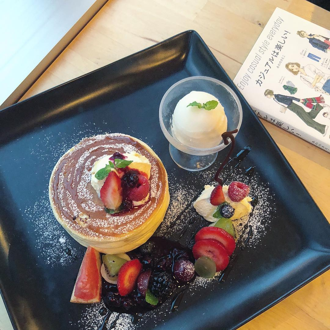 札幌甜點 丹山厚鬆餅 水果和鬆餅