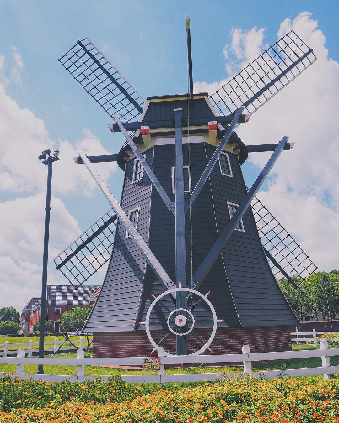 豪斯登堡 荷蘭風車