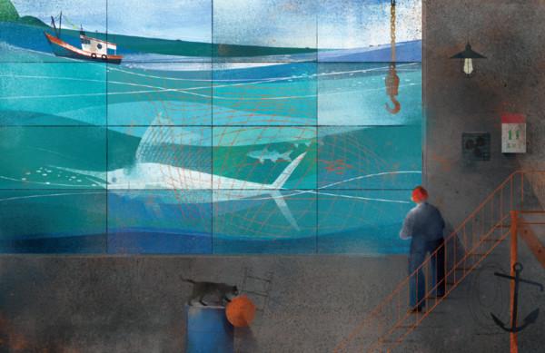 ▲星濱山團隊所創辦的「永晝海濱美術館」展至11月28日。(圖/星濱山團隊提供)