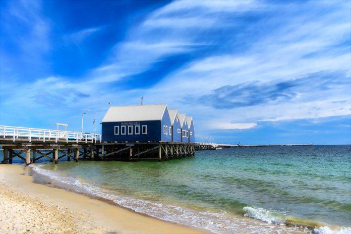 ▲澳洲伯斯景點-巴瑟爾頓棧橋。(圖/Tripbaa趣吧!達人帶路)