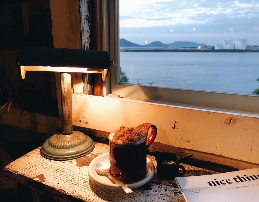 香川景點 北濱Alley 咖啡