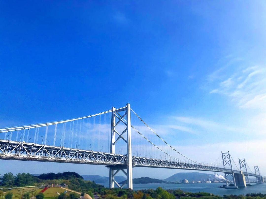 香川景點 瀨戶內海大橋