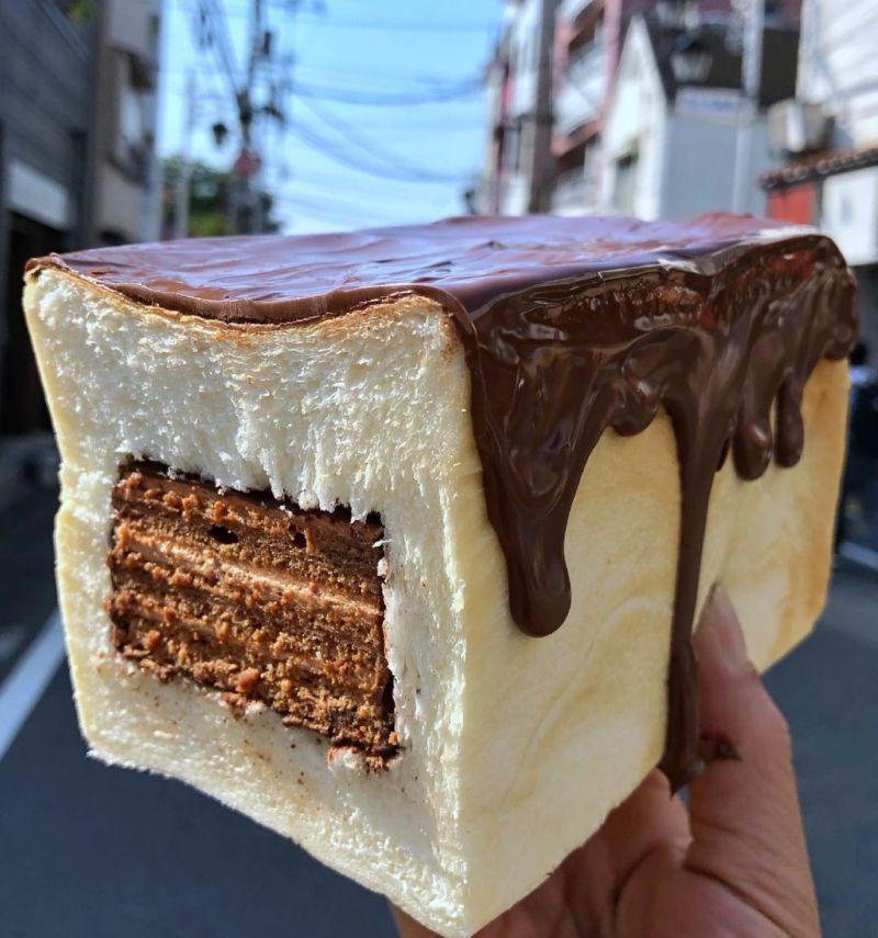 肥嘟嘟巧克力吐司蛋糕