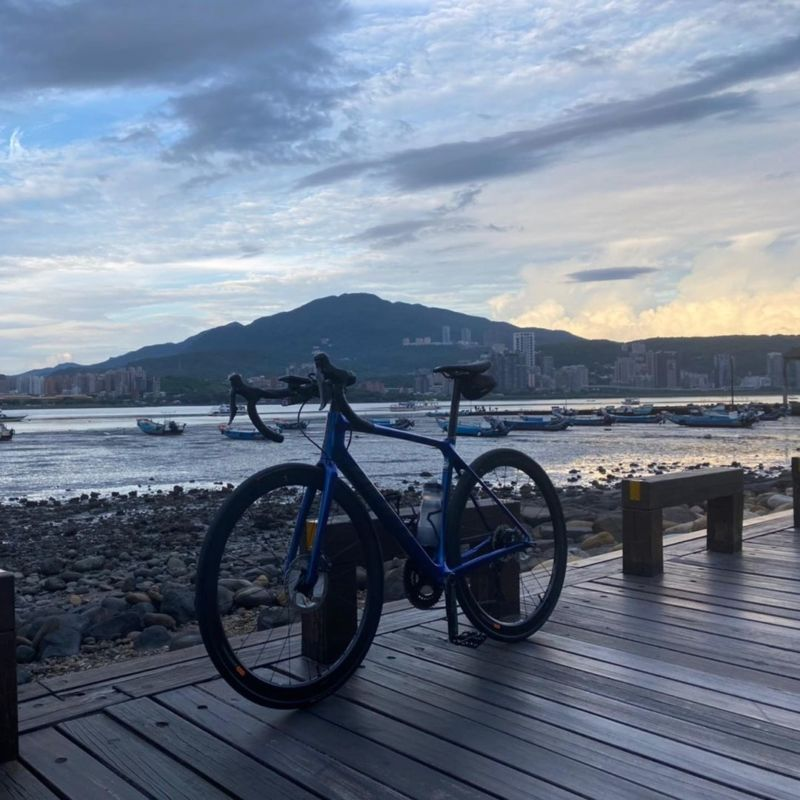 【雙北自行車道】八里左岸自行車道