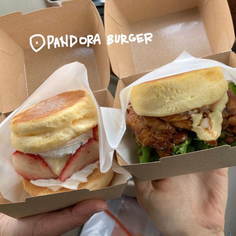 日本漢堡店-愛知舒芙蕾漢堡 PANDORA-BURGER