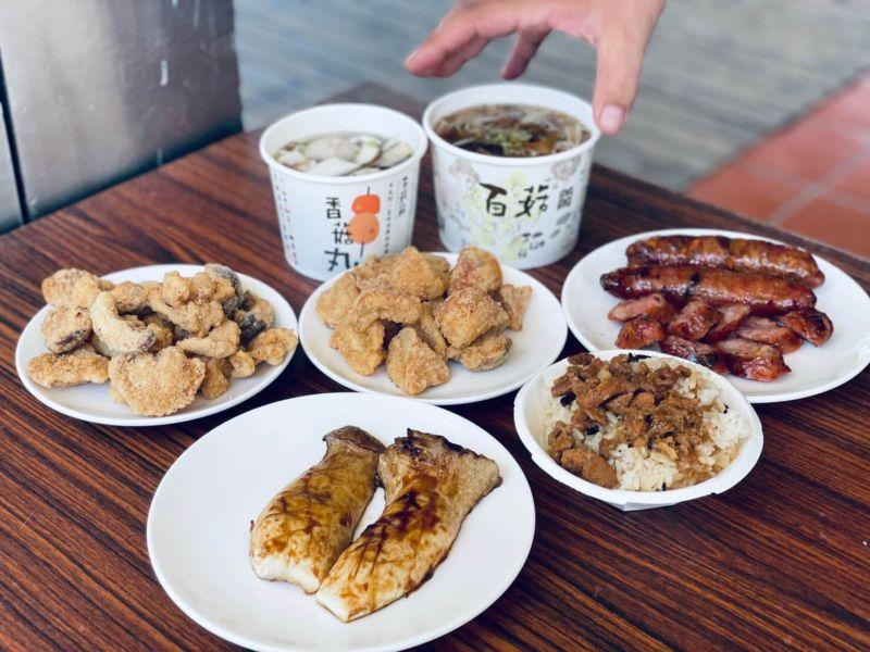 百菇莊 銅板美食 香菇料理