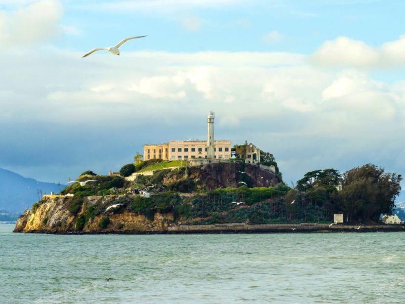 美國西岸舊金山景點-惡魔島