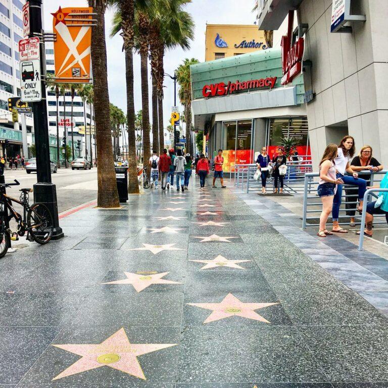 美國西岸洛杉磯景點-好萊塢星光大道