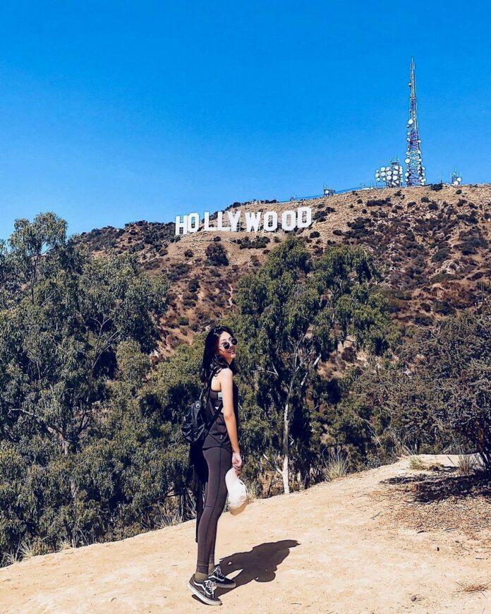美國西岸洛杉磯景點-好萊塢標誌