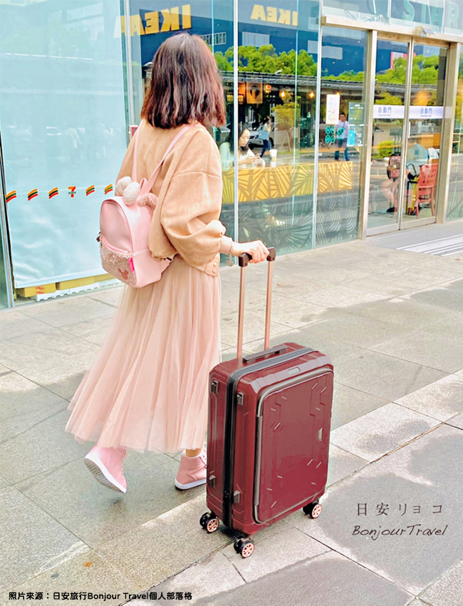 避震飛機輪 日本品牌LEGEND WALKER 行李箱推薦