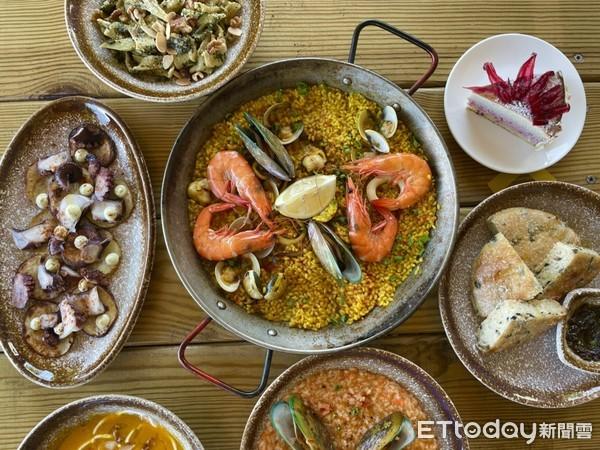 西班牙海鮮燉飯的口味雖然有點微調,不過老闆還是盡量讓整體還原道地風味。