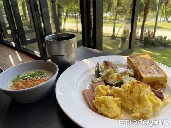 ▲早餐也很豐盛,中、西式餐點通通有。