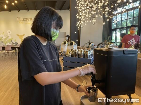 ▲早餐還能喝到主廚特調紅茶。