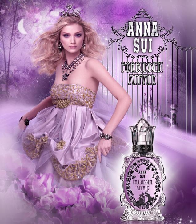 #Anna sui 紫鑰魔鏡淡香水
