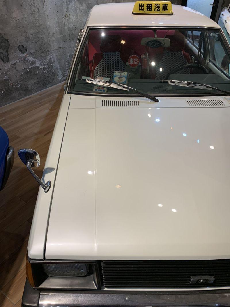 ▲台灣的古董計程車