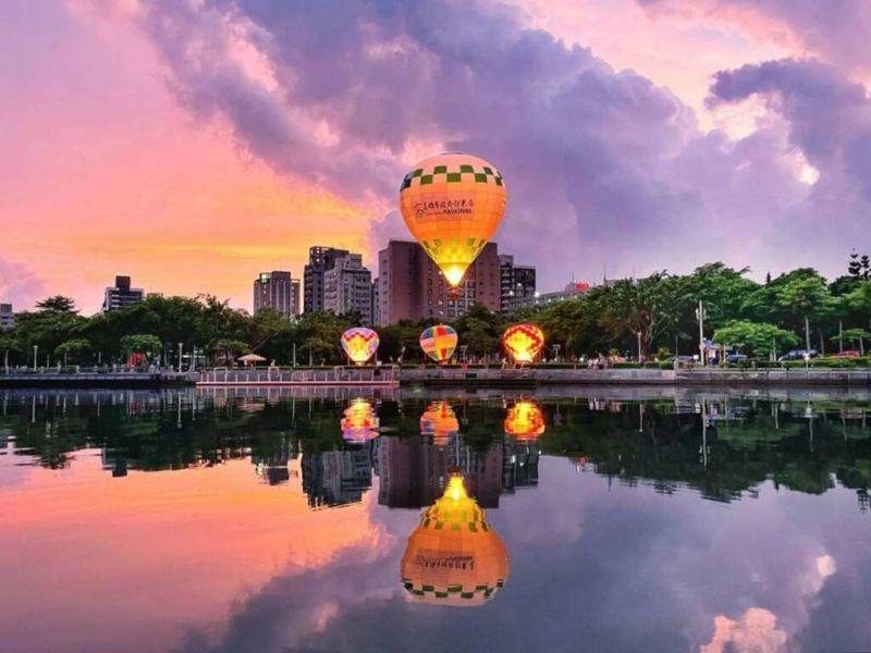 高雄熱氣球 雙十國慶高雄行程推薦