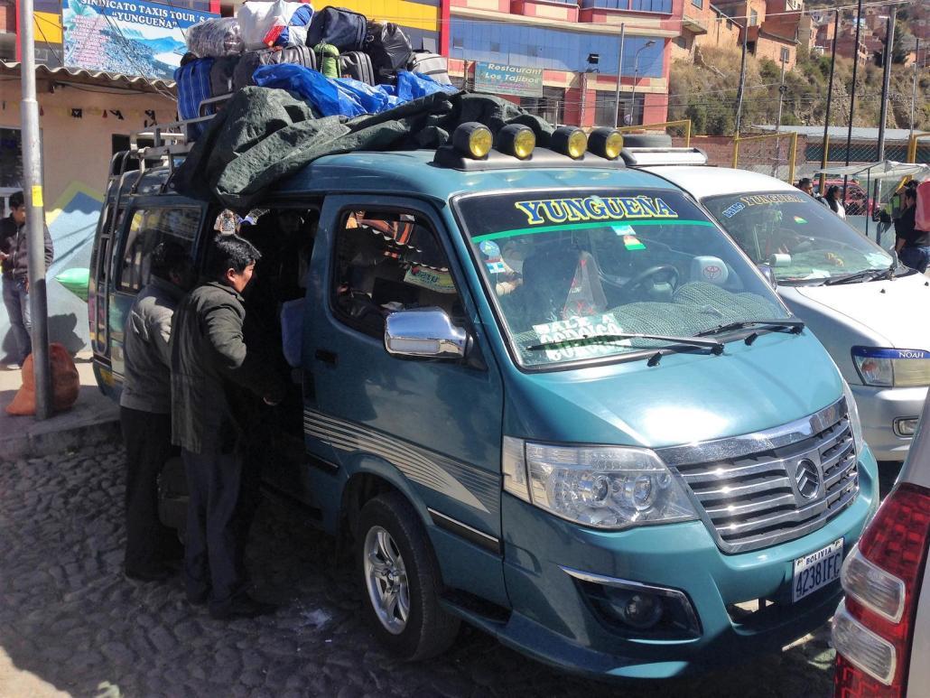 Minibus Bolivien