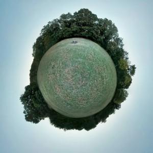 """Netter Nebeneffekt: Aus einer Photosphere kann man mit Googles Kameraapp auch einen """"Tiny Planet"""" machen lassen"""