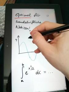 Surface Pro Handschrift