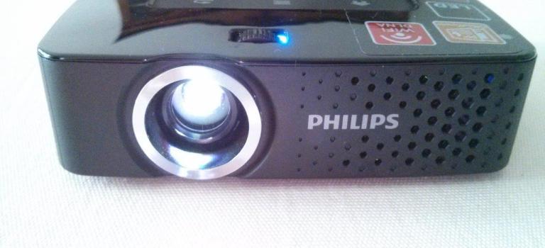 Im Test: Philips PicoPix 3614 Taschenbeamer
