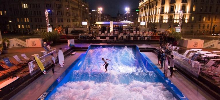 Surfen in Wien