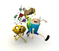 Adventure Time - 3d Illustration- modelled and rendered in StrataStudio3D
