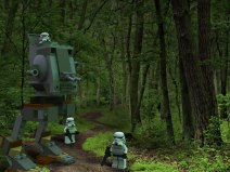 This isn't Endor - 3d Illustration- modelled and rendered in StrataStudio3D