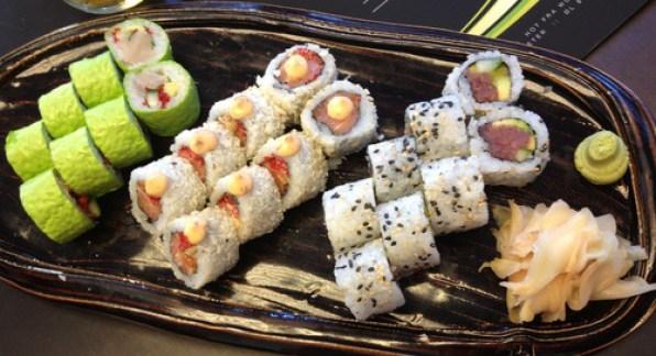 sushi, fødselsdag, salli villefrance, I'm Salli