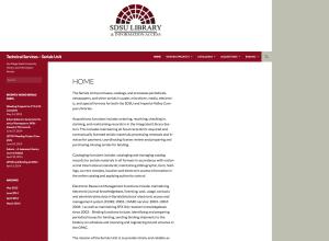 SDSU Library - Serials Unit Website