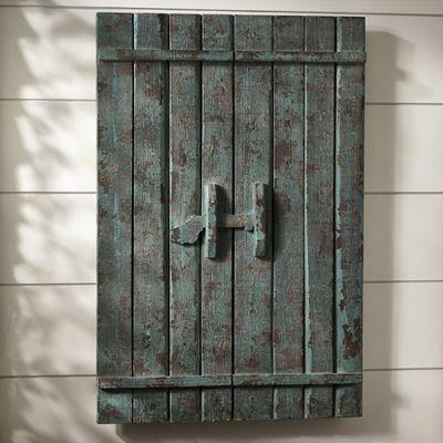 Barn Door Wall Dcor from Through the Country Door  42493