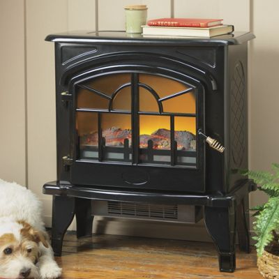 Vintagestyle Electric Fireplace from Seventh Avenue  D978592