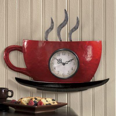 Cuppa Joe Wall Clock from Seventh Avenue  DF701564