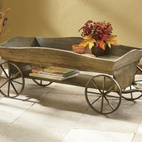 Wagon Coffee Table from Seventh Avenue | DW707125