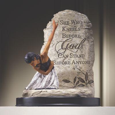She Who Kneels Sculpture from Midnight Velvet  VF710855