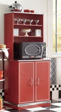 Retro Microwave Cabinet from Seventh Avenue   DH731189