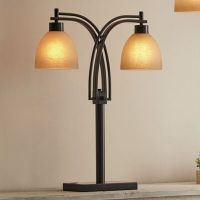 Two-Bulb Table and Floor Lamp from Country Door | NI747271